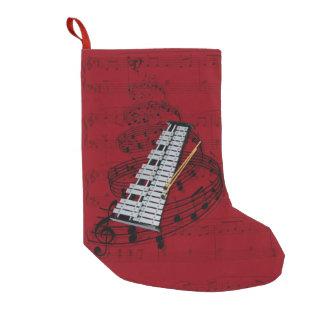 Musikstrumpa för Glockenspiel (klockor) Liten Julstrumpa