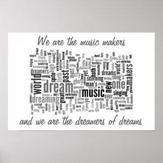 Musiktillverkarna Poster