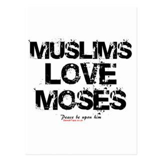 Muslimskärlek Moses Vykort