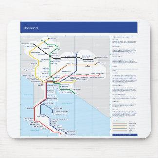 Musmatta för Thailand rörkarta