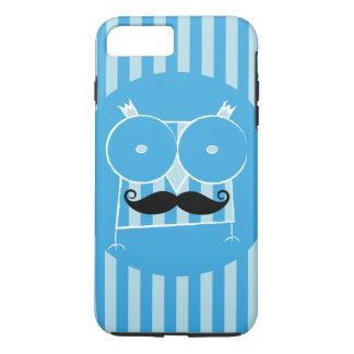 Mustached ugglaiphone case (för några modellera),