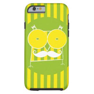 Mustached ugglaiphone case (för några modellera), tough iPhone 6 skal