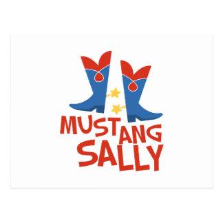 Mustang Sally Vykort