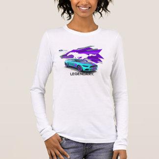 MustangCustomizerkvinna T-tröja för långärmad Tshirts