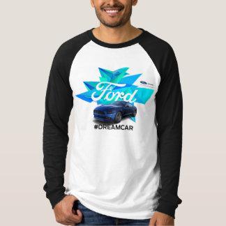 MustangCustomizermanar T-tröja för Raglan Tee Shirts