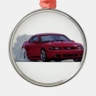 Mustangkobrasammanbrott 2004 julgransprydnad metall