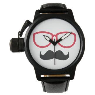Mustasch Armbandsur