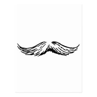 Mustasch de MUSEUMZazzle gåvorna Vykort