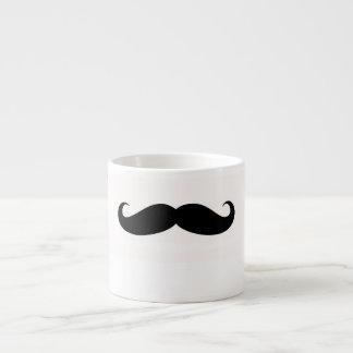 Mustasch Espressomuggar