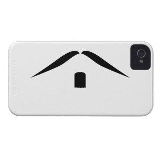 Mustasch iPhone 4 Case-Mate Fodraler