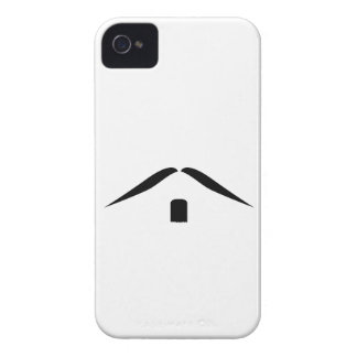 Mustasch iPhone 4 Case-Mate Skal