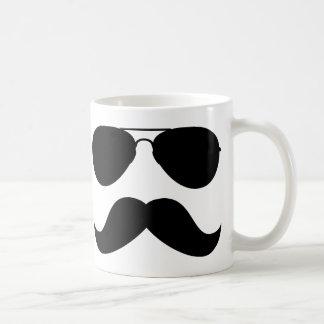 Mustaschflygaremugg Kaffe Kopp