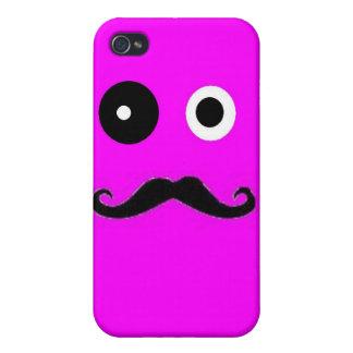 Mustaschgrabb iPhone 4 Cases