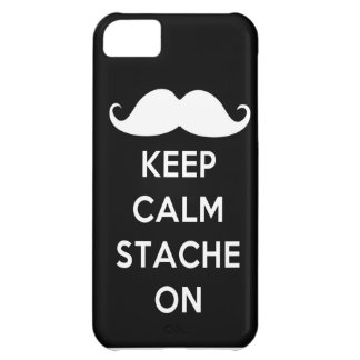 Mustaschiphone case iPhone 5C fodral
