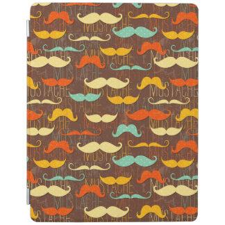 Mustaschmönster iPad Skydd