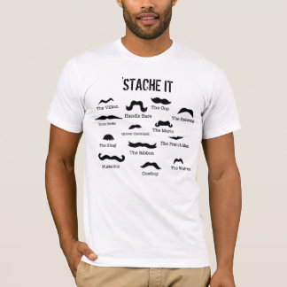 Mustaschskjorta T Shirts