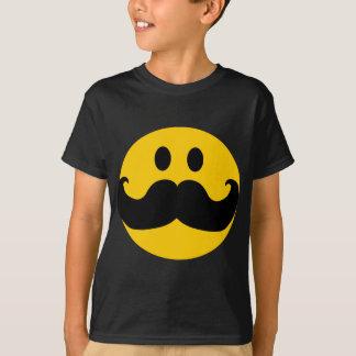 MustaschSmiley (anpassadebakgrundsfärg) Tee Shirts