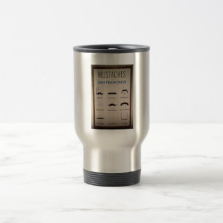 Mustaschtravel mug kaffe muggar