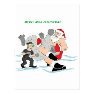 Muttahida Majlis-E-Amal Santa vs SnowMonster Vykort