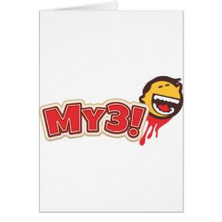 My3! Spelar Hälsningskort