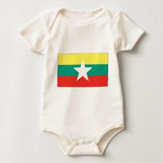 Myanmar (Burma) flagga Creeper