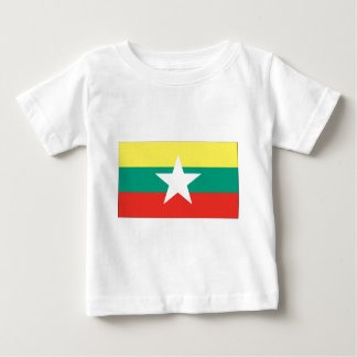 Myanmar (Burma) flagga T Shirt