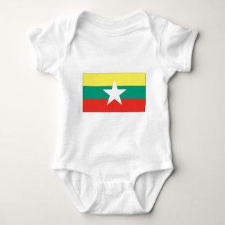 Myanmar (Burma) flagga T Shirts
