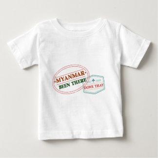 Myanmar där gjort det tröjor