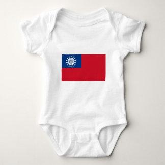 Myanmar flagga 1974-2010 t-shirt