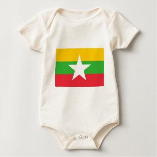 Myanmar flagga sparkdräkter