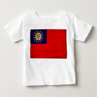 Myanmar flagga t shirts