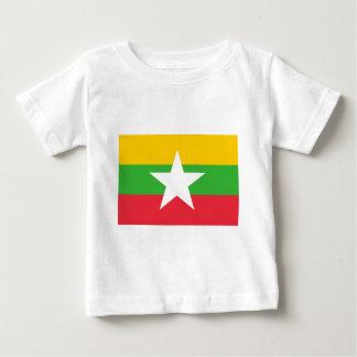 Myanmar flagga tee
