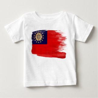 Myanmar flagga tee shirt