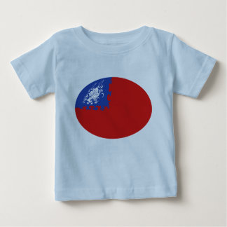 Myanmar Gnarly flaggaT-tröja Tee Shirts