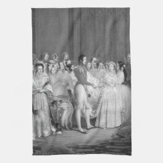 Mycket ett Victorianbröllop Kökshandduk