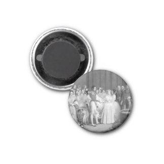 Mycket ett Victorianbröllop Magnet