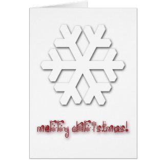 Mycket flott Deluxe julhälsningkort! Hälsningskort