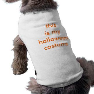 Mycket idérik Halloween dräkt Husdjurströja