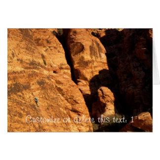 Mycket liten klättrare; Anpassade Hälsningskort