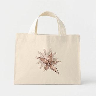 Mycket liten toto för arabisk blommar mini tygkasse