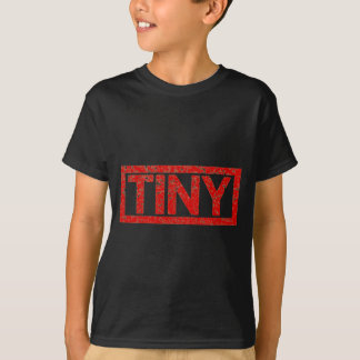 Mycket litet frimärke tee shirts