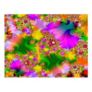 Mycket psychedelic vykort
