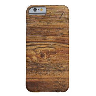 Mycket trevlig Wood design Barely There iPhone 6 Fodral