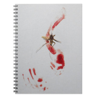 Mygga Anteckningsbok Med Spiral