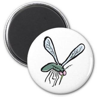 mygga magnet för kylskåp