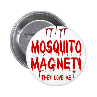 Myggamagnet Pins
