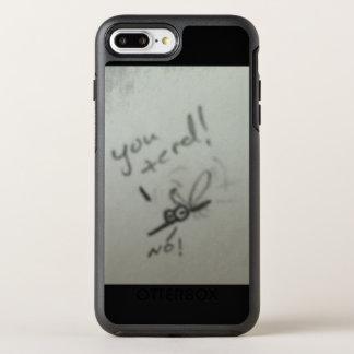 Myggor OtterBox Symmetry iPhone 7 Plus Skal