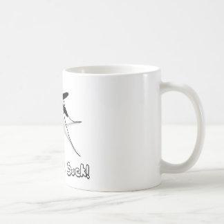 Myggor suger kaffemugg