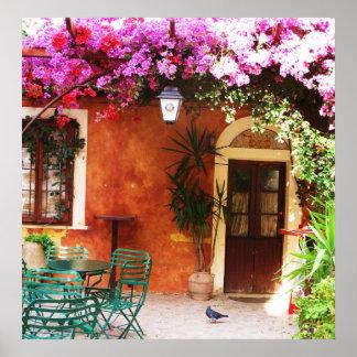 Mykonos Grekland, grekiska öar Poster