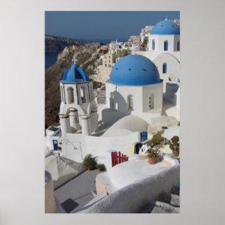 Mykonos Grekland reser affischen Poster